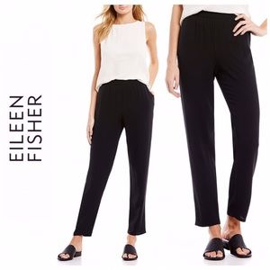 Eileen Fisher Silk Slouchy Pants